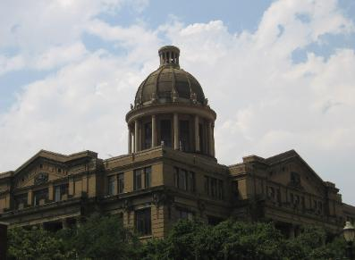 Old Harris County Civil Courthouse (prior to being renovated)